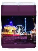London Christmas Markets 20 Duvet Cover