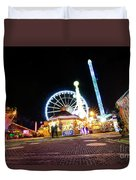 London Christmas Markets 21 Duvet Cover