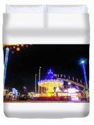 London Christmas Markets 22 Duvet Cover