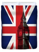 London England Big Ben Duvet Cover
