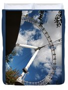 London Ferris Wheel Duvet Cover