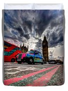 London In One Picture Duvet Cover