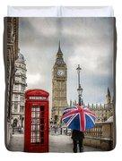 London Lady Duvet Cover