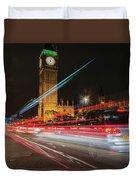 London Lit Duvet Cover