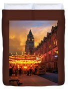 London Museum At Night Duvet Cover
