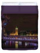 London Nights Duvet Cover