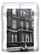 London Sixties Lambretta Duvet Cover