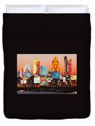 London Skyline Collage 2 Duvet Cover