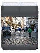 London Street Duvet Cover