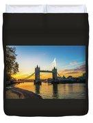 London Sunrise 2 Duvet Cover
