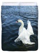 London Swan Duvet Cover