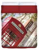 London Telephone 3 Duvet Cover
