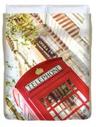 London Telephone 3 Duvet Cover