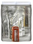 London Telephone C Duvet Cover