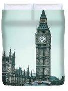 London Times Duvet Cover
