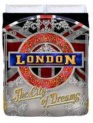 London Town Duvet Cover