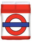 London Underground Blank Duvet Cover