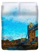 London Unveiled Duvet Cover
