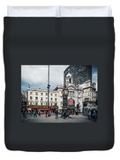 London - Victoria Station Duvet Cover
