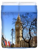 London's Big Ben Duvet Cover