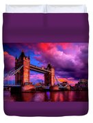 London's Tower Bridge Duvet Cover