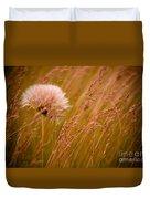Lone Dandelion Duvet Cover