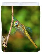 Lone Dragonfly Duvet Cover