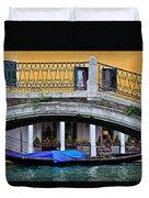 Lone Gondola Duvet Cover