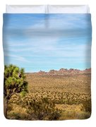 Lone Joshua Tree - Pleasant Valley Duvet Cover
