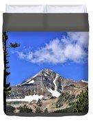 Lone Mountain Duvet Cover