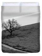Lone Oak Duvet Cover