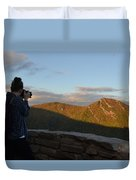 Lone Photographer I Duvet Cover