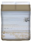 Lone Reflection Duvet Cover