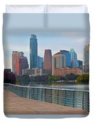Lone Star State Capitol Ahead Duvet Cover