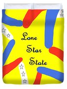 Lone Star State Duvet Cover