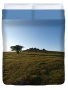 Lone Tree, Dartmoor Duvet Cover