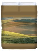 Lone Tree In The Palouse  Duvet Cover