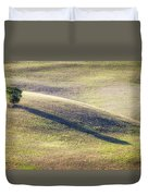 Lone Tree In Tuscany Duvet Cover