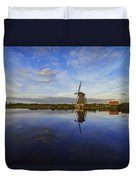 Lone Windmill Duvet Cover by Chad Dutson