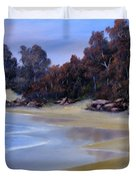 Lonely Beach Duvet Cover