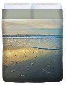 Lonely Beach Duvet Cover