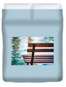 Lonely Bench Duvet Cover