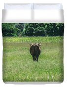 Lonely Cow 2 Duvet Cover