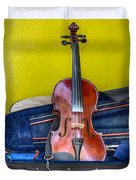 Lonely Fiddle Duvet Cover