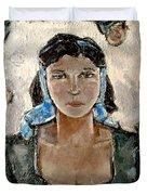 Lonely Girl Lg1 Duvet Cover