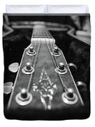Lonely Guitar Duvet Cover