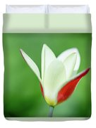 Lonely Lady Tulip Duvet Cover