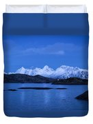 Lonely Lighthouse Duvet Cover