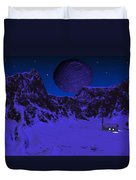 Lonely Outpost Duvet Cover