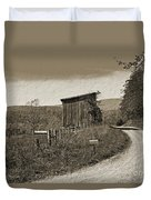 Lonely Road Duvet Cover